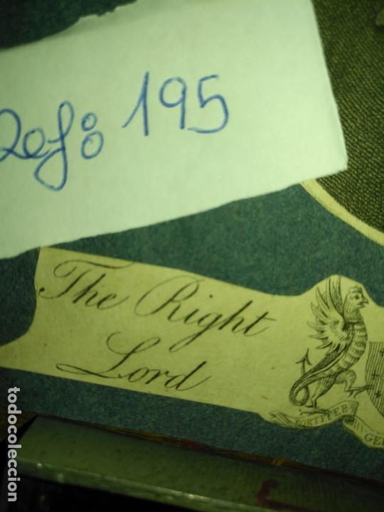 Arte: grabado original - the right lord - donoughmore , gerit crucem - primera decada de 1800 - Foto 3 - 168759112