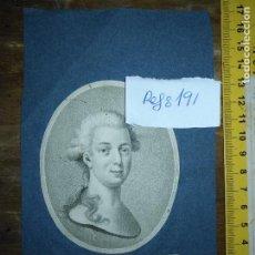 Arte: GRABADO ORIGINAL - EMPERADOR DE RUSIA PAUL I . HIS IMPERIAL MAJESTY EMPEROR OF RUFSIAL. CIRCA 1820. Lote 168800840