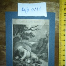 Arte: GRABADO ORIGINAL - 1819 ARPXO. WILLIAM SHAKESPEARE - HENRY IV PART I FALSTAFF EMBOWELLD. Lote 168803960
