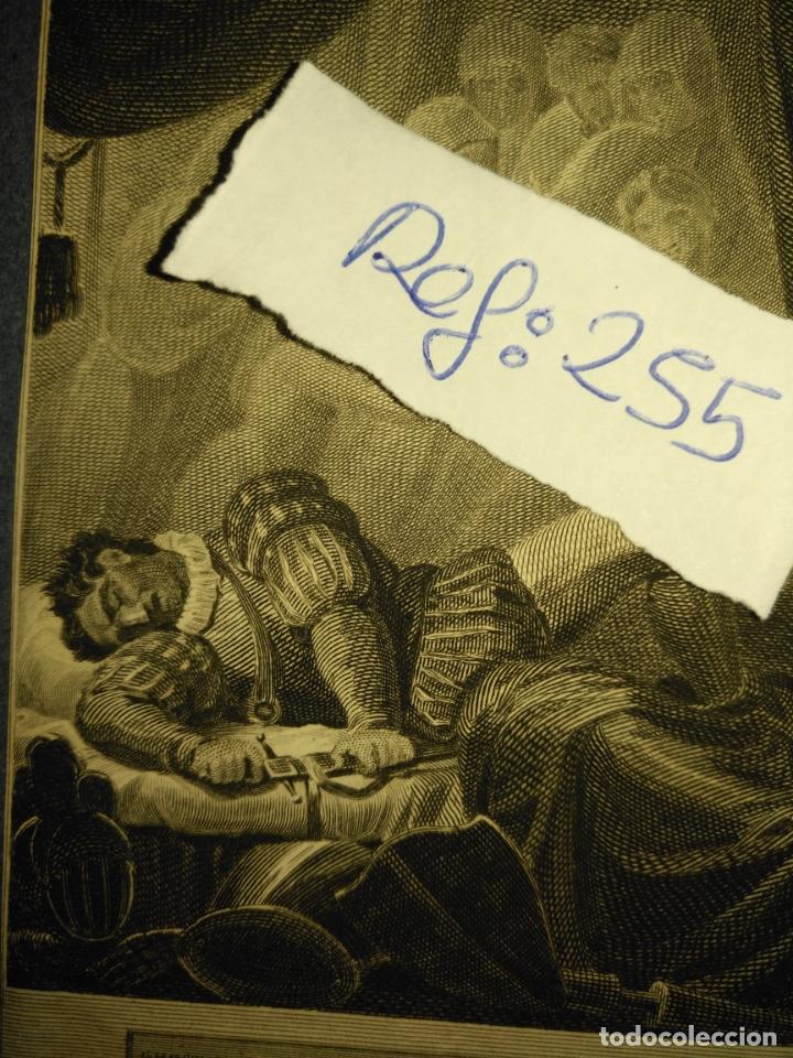 Arte: grabado original - 1819 arpxo. richard iii - aware - gost of ring henrry - Foto 3 - 168805900