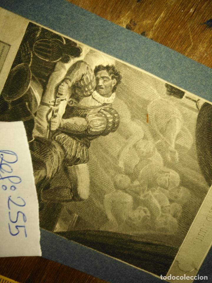 Arte: grabado original - 1819 arpxo. richard iii - aware - gost of ring henrry - Foto 7 - 168805900