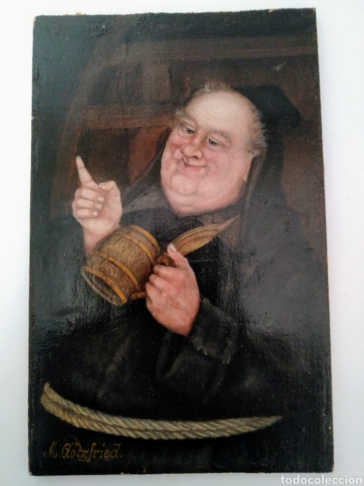 MAX GOTZFRIED (Arte - Pintura - Pintura al Óleo Antigua siglo XVIII)