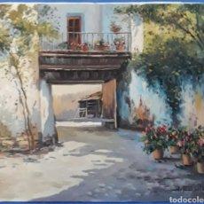 Arte: OLEO SOBRE LIENZO PAISAJE RURAL ANDALUZ FIRMADO J.MARSAL. Lote 169043848