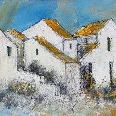 Kunst: EDDY DOORENBOS, PRECIOSA PINTURA VINTAGE DE TORREMOLINOS.. Lote 169172805
