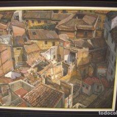 Arte: PINTURA AL OLEO MANUEL BARBERA VALENCIA 1936 -2010 ,BUEN TAMAÑO 94CM POR 80CM. Lote 169181664