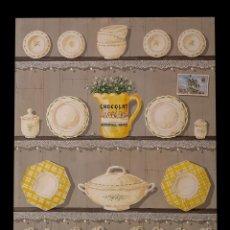 Arte: ESPECTACULAR TABLA CON ALACENA PINTADA, 1, 10 X 89, CARLOS MARTÍN, ZARAGOZA. Lote 169237908