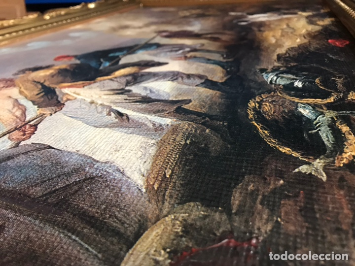 Arte: Cuadro pesquero pan de oro óleo 1,41x75 - Foto 12 - 167504377