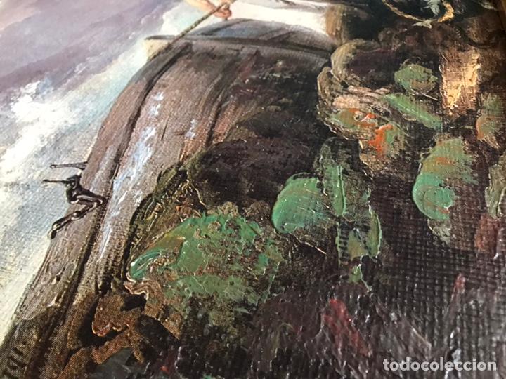 Arte: Cuadro pesquero pan de oro óleo 1,41x75 - Foto 13 - 167504377