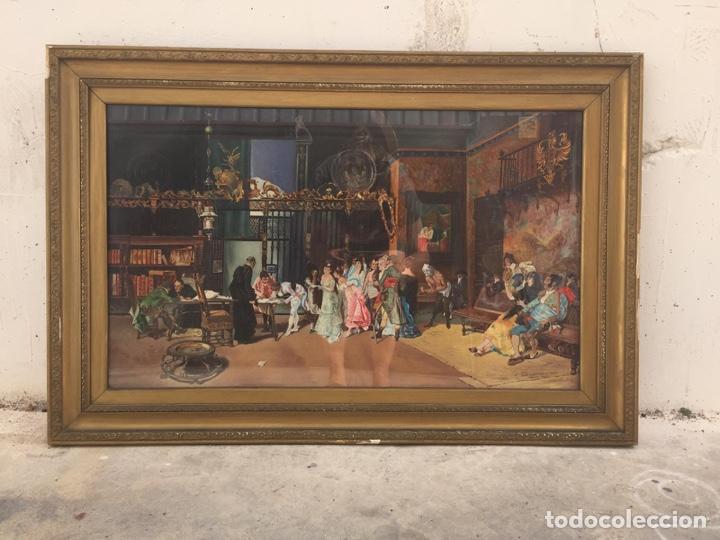 """COPIA AL ÓLEO DE """" LA VICARIA """" DE MARIANO FORTUNY (Arte - Pintura - Pintura al Óleo Antigua sin fecha definida)"""