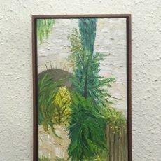 Arte: PINTURA AL ÓLEO SOBRE LIENZO FIRMADO. Lote 169321858