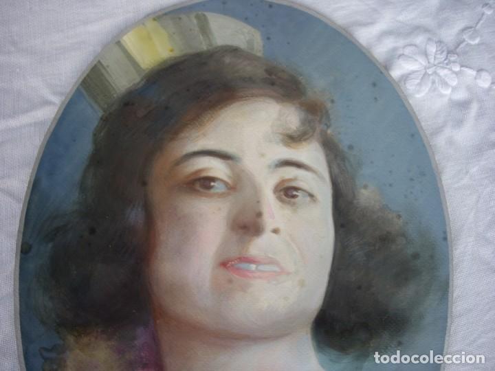 Arte: pastel finales xix -principios xx,modernista firmado vorin - Foto 3 - 169334236