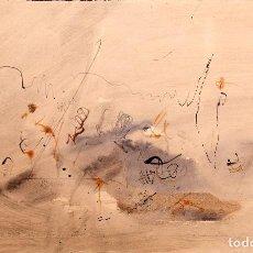 Arte: JOAN DURAN - TECNICA MIXTA SOBRE PAPEL - 1966. Lote 169338440