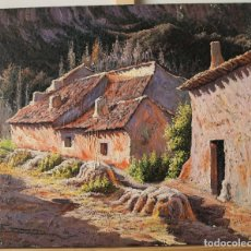 Arte: OLEO MOTIVO RURAL FIRMADO. Lote 140059350