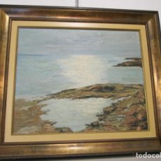 Arte: PINTURA DE JOSE VILA FUENTES - ALICANTE 1.920-1.997 - VISTA DE SU TIERRA. Lote 169597668