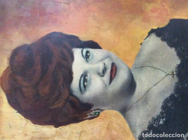 Arte: Preciosa Pintura al óleo mujer - Foto 2 - 169726732