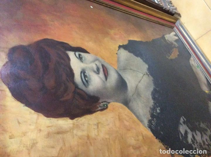 Arte: Preciosa Pintura al óleo mujer - Foto 4 - 169726732