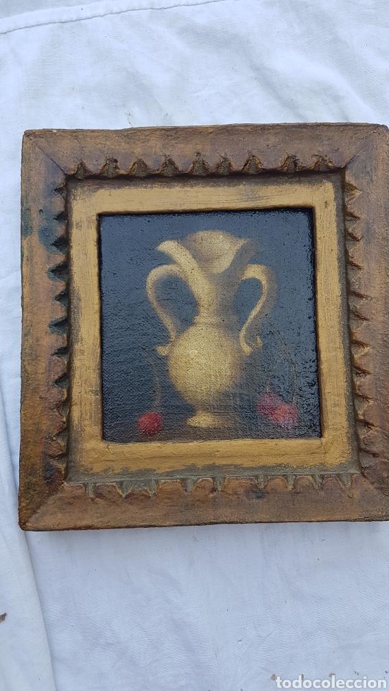 ANTIGUO ÓLEO SOBRE LIENZO Y TABLILLA ESCUELA SEVILLANA (Arte - Pintura - Pintura al Óleo Antigua sin fecha definida)