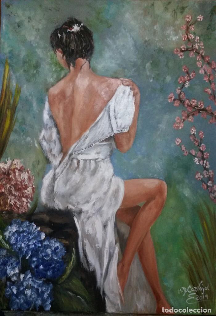 MUJER OLEO LIENZO (Arte - Pintura - Pintura al Óleo Contemporánea )