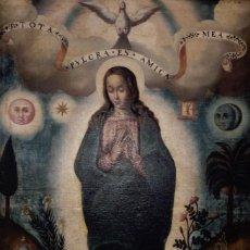 Arte: INMACULADA FINALES SIGLO XVII PRINCIPIOS XVIII MALLORCA. Lote 169866020