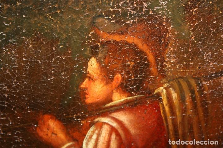 Arte: ESCUELA DE LOS BASSANO DEL SIGLO XVII. OLEO SOBRE LIENZO. ESCENA CAMPESTRE - Foto 12 - 169888372