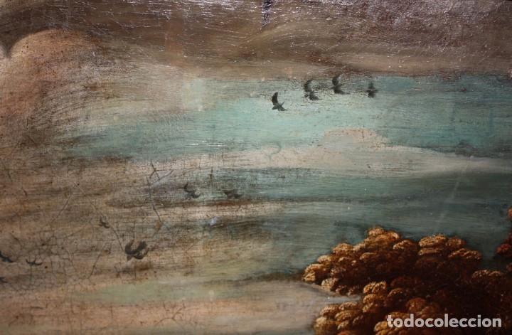 Arte: ESCUELA DE LOS BASSANO DEL SIGLO XVII. OLEO SOBRE LIENZO. ESCENA CAMPESTRE - Foto 13 - 169888372