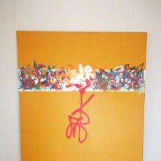 Arte: OLEO SOBRE LIENZO POR ANDRES IGLESIAS - 2002. Lote 169957672