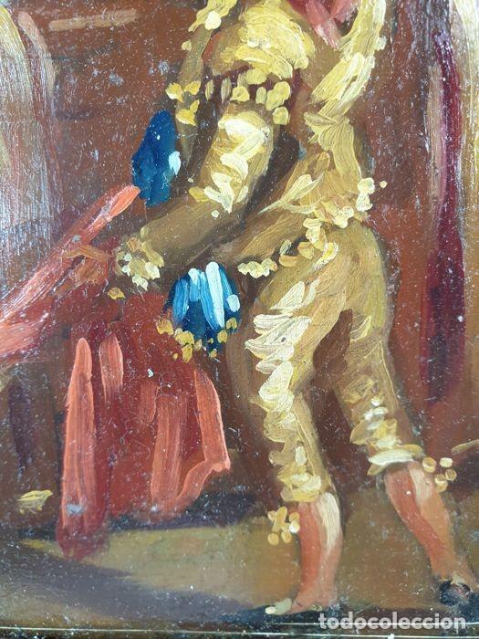 Arte: El Seguidor - Eugenio Lucas Velázquez - Oleo sobre tabla SXIX - Foto 2 - 169986280