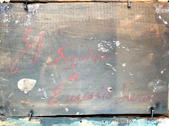Arte: El Seguidor - Eugenio Lucas Velázquez - Oleo sobre tabla SXIX - Foto 4 - 169986280
