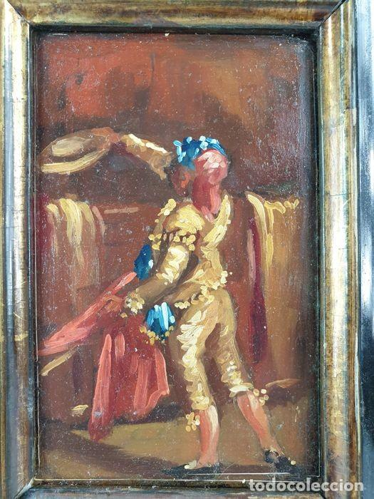 Arte: El Seguidor - Eugenio Lucas Velázquez - Oleo sobre tabla SXIX - Foto 5 - 169986280
