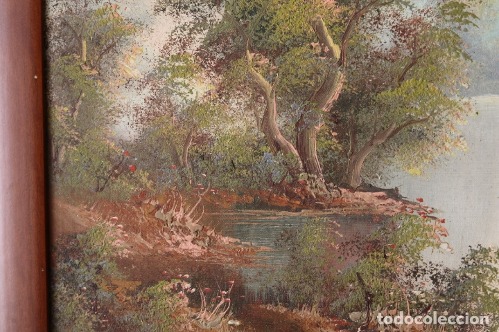 Arte: Pintura al oleo con marco firmada - Foto 2 - 170067932