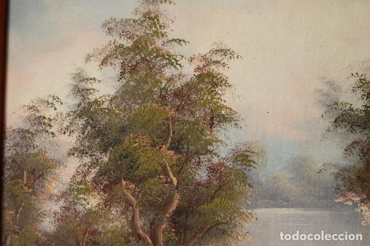 Arte: Pintura al oleo con marco firmada - Foto 4 - 170067932