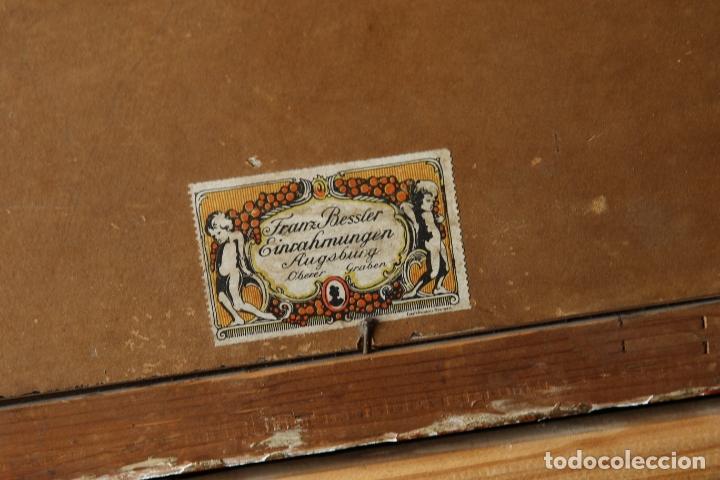 Arte: Antiguo oleo con marco firmado - Foto 7 - 170077936