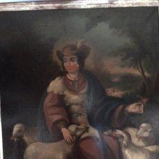 Arte: ÓLEO DE LA DIVINA PASTORA S. XVIII. Lote 170105140