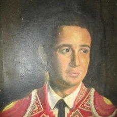 Arte: JOSE MARIA MANZANARES TORERO OLEO PINTURA ANTIGUA FIRMA J ESPLA ARTISTA DE HOGUERAS DE ALICANTE. Lote 136244034