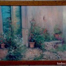 Arte: ENTRADA CON FLORES. Lote 170181564