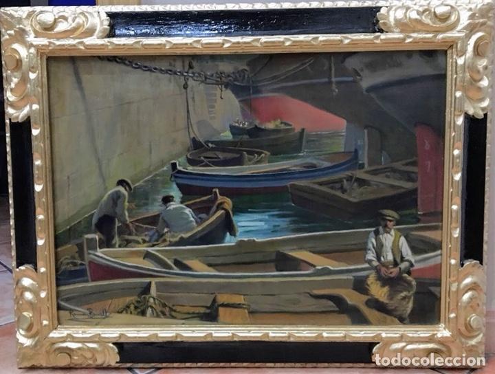 RAMÓN BORRELL I PLA (1876-1963),ÓLEO LIENZO (Arte - Pintura - Pintura al Óleo Antigua sin fecha definida)