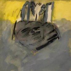 Arte: LLUIS PERA - MIXTA SOBRE PAPEL -. Lote 170198224