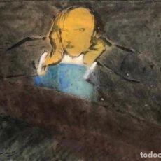 Arte: PERICO PASTOR - MIXTA SOBRE PAPEL -. Lote 170201852
