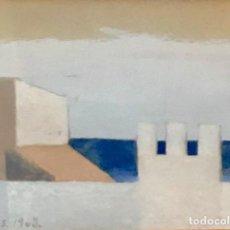 Arte: XAVIER VALLS - MIXTA SOBRE PAPEL -. Lote 170202084