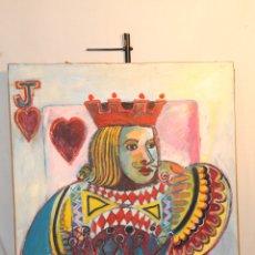 Arte: JUANA ANDUEZA, NAIPE I, ALICIA Y JUANA EN EL PAIS DE LAS MARAVILLLAS. Lote 170216200