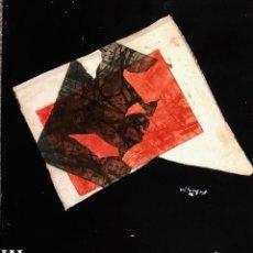 Arte: JOAN VILACASAS - TÉCNICA MIXTA Y COLLAGE -. Lote 170245668