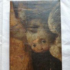 Arte: PRECIOSO ANGELITO SIGLO XVII, ÓLEO SOBRE LIENZO. Lote 170329416
