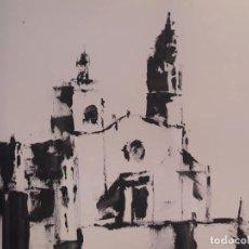 Arte: JOSE LUIS FUENTETAJA-IGLESIA DE SITGES-DEL TALLER DEL AUTOR. Lote 170402708