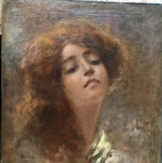 Arte: VINCENZO IROLLI (1860-1949) PINTOR ITALIANO - ÓLEO SOBRE TELA. Lote 170560420