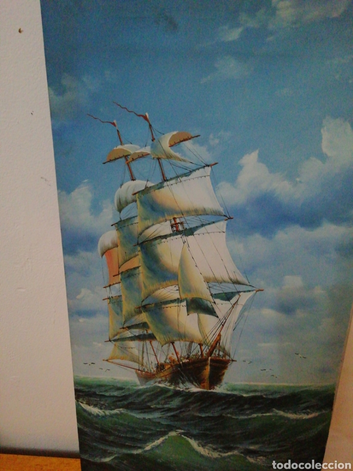 Arte: Cuadro pintado óleo - Foto 2 - 170574037
