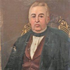 Arte: RETRATO DE FRANCISCO FERNÁNDEZ DE LOS RÍOS POR DOMINGO Gª Y DÍAZ (JEREZ DE LA FRONTERA 1817- S XIX). Lote 170578405