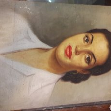 Arte: VIDAL LOMBAN ARTISTAS COMPOSTELANO EXPOSICIÓN 1950 RETRATO ARTISTA ÉPOCA NACIDO MADRID ARTISTA ÓLEO. Lote 170732714