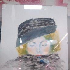 Arte: PRECIOSA PINTURA DE MERCEDES GARCÍA BRAVO (MER). Lote 170781050