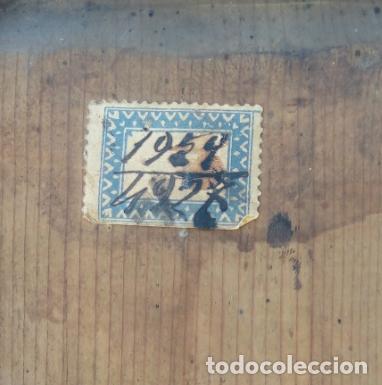 Arte: ÓLEO BAJO CRISTAL -CALVARIO, CON MAGDALENA Y CRUCIFICADO-. ESCUELA ITALIANA XVIII. DIM.- 39X33 CMS - Foto 3 - 170890475