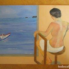 Arte: CUADRO PLAYA. Lote 170915020
